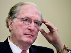 Senate Commerce Chairman Sen. Jay Rockefeller, D-W.Va., at a hearing on Capitol Hill in Washington.