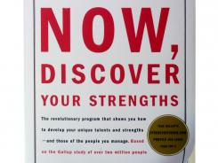 "Book jacket of ""Now, Discover Your Strengths,"" by Marcus Buckingham and Donald O. Clifton, Ph.D."