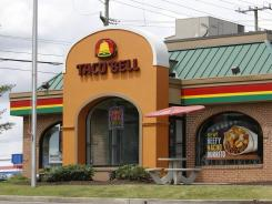 Taco Bell is one of several restaurants promoting soft drinks on morning menus.