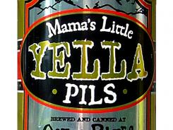Mama's Little Yella Pils from Oskar Blues Brewery in Longmont, Colo., is 5.3% alcohol by volume.