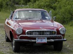 Irv Gordon's Volvo P1800S in Babylon, N.Y.