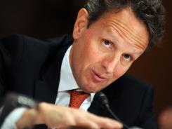 Treasury Secretary Tim Geithner is former head of the New York Federal Reserve.