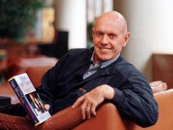 Stephen Covey, photographed at Snowbird Resort east of Salt Lake City, in 1997.