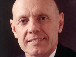 Stephen Covey, author of many best-selling business and self-help books.