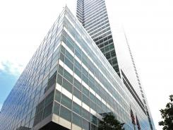 Headquarters of investment banking and securities firm Goldman Sachs in lower Manhattan.