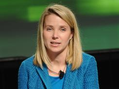 Marissa Mayer at the TechCrunch Disrupt event in San Francisco last September.
