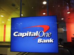 A Capital One Bank office in New York City.