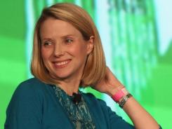 Marissa Mayer, 37, newly named CEO of Yahoo.