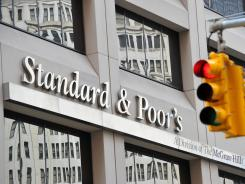 Standard & Poor's headquarters in the financial district of New York.