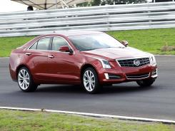 A 2013 Cadillac ATS at Atlanta Motorsports Park in Dawsonville, GA.