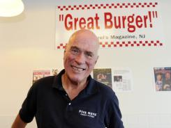 "Five Guys CEO Jerry Murrell says, ""I think people will pay a little extra for food if it's worth it."""