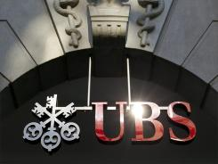 A UBS bank branch in Zurich, Switzerland.