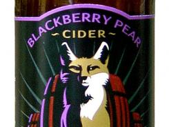 Blackberry Pear Cider by Fox Barrel Cider Co., of Colfax, Calif., is 5% ABV.