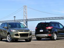 The all-new 2013 Ford Escape, launched on the streets of San Francisco.