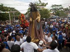 Celebrations in Managua, Nicaragua, the first 10 days of August honor the city's patron saint, Santo Domingo de Guzman. Corrie Burdett took an internship in the country to gain international experience.