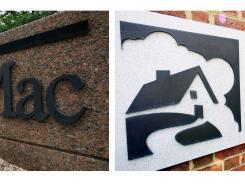 The Freddie Mac headquarters in McLean, Va., and the Fannie Mae headquarters in Washington, D.C.