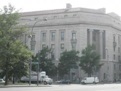 The Justice Department building in Washington.