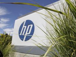 Hewlett Packard Co. headquarters in Palo Alto, Calif., south of San Francisco.
