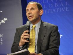 Procter & Gamble Chairman and CEO Bob McDonald at a 2011 Clinton Global Initiative meeting in New York.