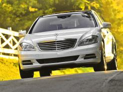 The Mercedes-Benz S350 Bluetec.