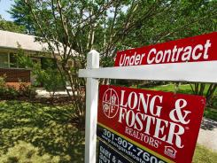 A home under contract in July in Rockville, Md.