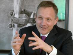 Antony Jenkins, 51, was named chief executive of Barclays Thursday.