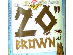 20-inch Brown ale from Cascade Lakes Brewing Co., of Redmond, Ore., is 5.3% ABV.