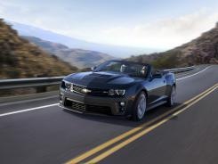 The Chevrolet-Camaro-ZL1 convertible.