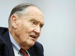 John Bogle, founder of the Vanguard Group, in a 2008 file photo.