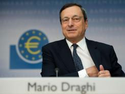 Mario Draghi, head of the European Central Bank.