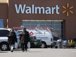 A Walmart in Valley Stream, on New York's Long Island.