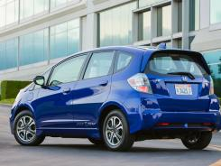 Rare: The all-electric 2013 Honda Fit EV.