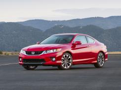 The 2013 Honda Accord EX-L V-6 Coupe.