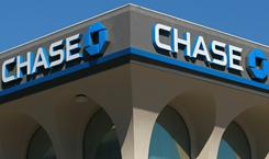 The Chase logo is displayed on the exterior of a Chase bank on October 13, 2010 in San Francisco, Calif.