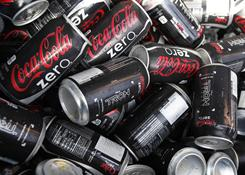 Coca-Cola Zero posted double-digit volume growth  in North America for the 19th straight quarter.