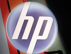 The corporate logo for Hewlett-Packard.