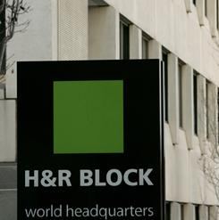 The H&R Block world headquarters in Kansas City, Mo. in a file photo from Nov. 17, 2005.
