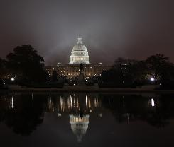 The U.S. Capitol in a November, 2010, file photo.