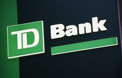 TD Bank didn't have a presence in U.S. six years ago, but now has about 1,300 branches in the U.S. and about 1,100 in Canada.