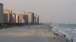 Myrtle Beach, S.C., is a popular vacation spot.