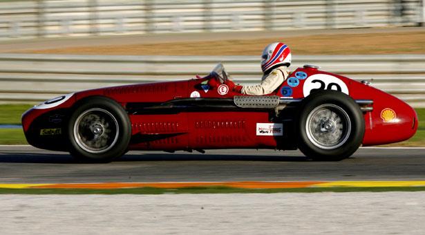 Old Ferrari Race Cars 5