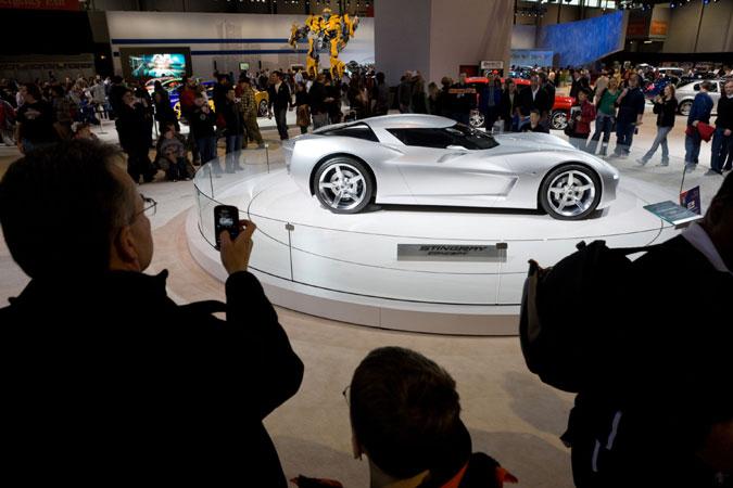 Новый Chevrolet Corvette получит дизайн в ретро-стиле - фото 4.