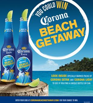 Corona Beach Sweepstakes http://mediagallery.usatoday.com/Marketers-turn-up-the-heat-with-cool-summer-designs/G2376