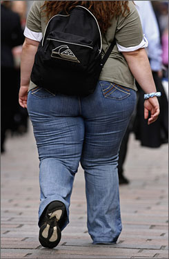 In five years, the ranks of those whoe are 100 or more pounds overweight has grown by 2.6 million people in the USA.