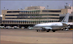 """. """"We are making progress and achieving good results,"""" says Kifah Hussein Jabbar, director of Iraqi Airways."""