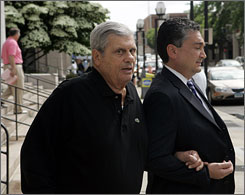 When Matty &quot;The Horse&quot; Ianniello, left, pleaded guilty last year to corrupting a Queens bus drivers union, he arrived in court propped up by a cane. His voice was difficult to understand during his plea; Ianniello's lawyer blamed his client's garbled diction on a stroke. Others were most skeptical.