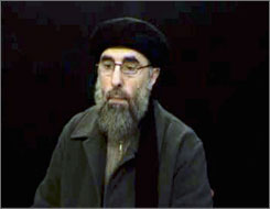 Gulbuddin Hekmatyar, a warlord on the U.S. wanted list, has previously said the United States does not have the capacity to stay for long in Afghanistan and predicted American forces will pull out at the same time as they withdraw from Iraq.