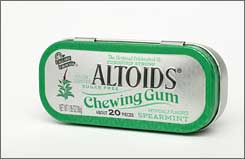 Altoids Chewing Gum