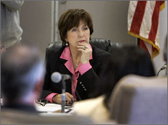 Louisiana Gov. Kathleen Blanco had been widely criticized not only for her immediate response to Hurricane Katrina, but also for a bureaucracy-bogged recovery effort.