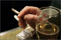 Tobacco causes 40% of hospital illnesses, while alcohol is blamed for more than half of all visits to emergency rooms.